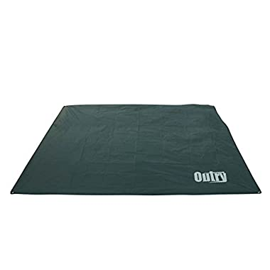 OUTRY Waterproof Multi-Purpose Tarp - Tent Stakes Included, M - 5.9ft x 7.2ft, Lightweight Camping Picnic Ground Sheet Cover Cloth Mat Outdoor Footprint Rainfly Backpacking Rain Fly Shelter Tarpaulin