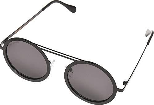 Urban Classics 104 Sunglasses UC, Occhiali Unisex-Adulto, Nero/Nero, One Size