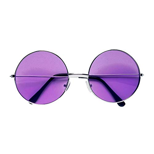 Widmann 68619 70er Jahre Brille, Unisex– Erwachsene, Violett