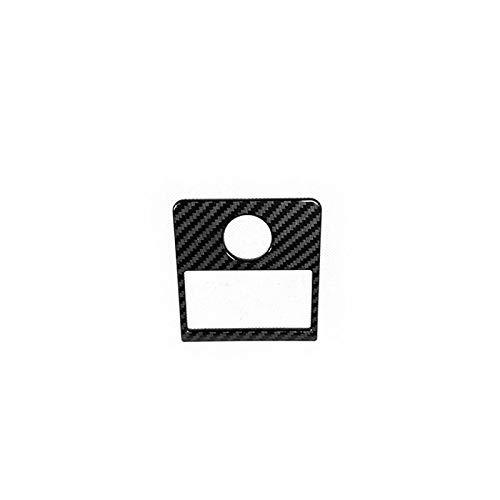 jap768 1 stück ABS Carbon Faser Auto Accessoire Auto Scheinwerfereinstellung Schalter Panelabdeckung Fit für Honda HRV HR-V VEZEL 2014 bis 2019
