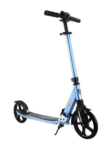 Patinete para adultos / adolescentes, patinete de ruedas grandes, patinete plegable fácil, soporte duradero para patinete de 220 libras, adecuado para adolescentes / adultos de 10 años en adelante
