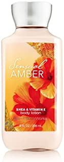 【Bath&Body Works/バス&ボディワークス】 ボディローション センシュアルアンバー Body Lotion Sensual Amber 8 fl oz / 236 mL [並行輸入品]