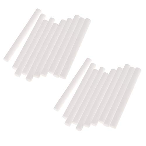 prasku Difusor de Humidificador de Coche Paquete de 20 Palos de Recarga de Esponja Mecha de Filtro