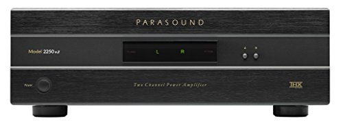 Great Price! Parasound Model 2250 v.2 Two Channel Power Amplifier