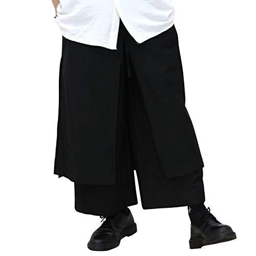 Lesucood(ルシュクード)『プリーツデザイン袴パンツ』