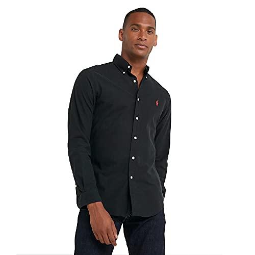 Ralph Lauren Oxford Shirt Slim Fit (L, RL Black)
