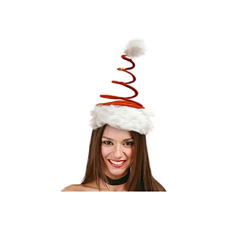 Noël chapeau rouge avec spirale
