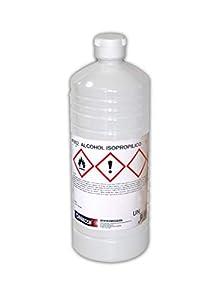 Alcohol Isopropílico Nazza | Para la limpieza de componentes electrónicos | 99,9% Isopropanol puro | 1 Litro