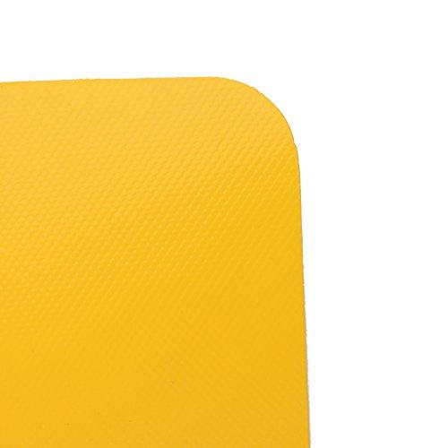Generic PVC Reparaturflicken - Schlauchboot/Kanu/Kajak Reparatur Flickzeug oder als Luftmatraze, Zelt, Segel Reparaturflicken - Gelb
