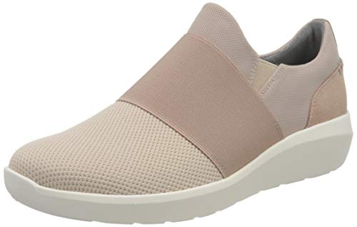 Clarks Kayleigh Band, Zapatillas Mujer, Dusty Pink Combi Textile, 37 EU