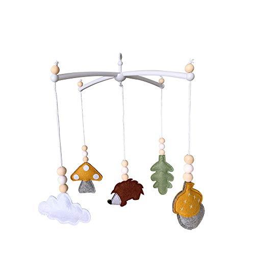 Nicole Knupfer Baby Windspiel, Krippe Mobile für Jungen & Mädchen,Baby Windspiel Anhänger,Bettglocke,Mobile Krippe,Neugeborene Geschenke (CL-07)