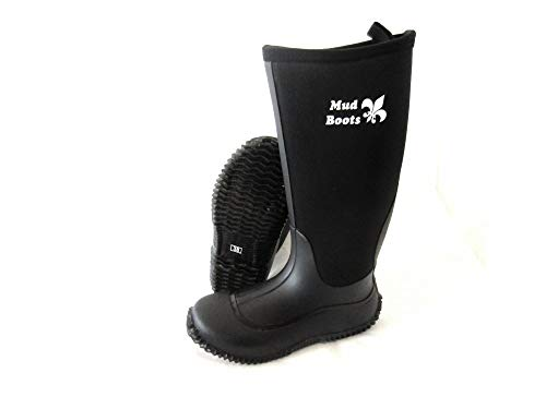 PS Pferdeartikel Mud Boot - Neopren Stiefel, Gummistiefel, kniehoch Größe 38 EU