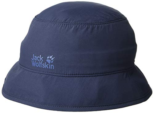 Jack Wolfskin Kinder Supplex Safari Hut Kappe, Night Blue, S