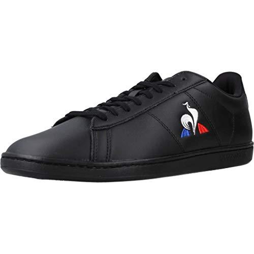 Le Coq Sportif Unisex Courtset Sneaker, Schwarz (Triple Black), 43 EU