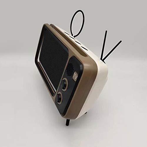 LG Snow de Bolsillo Retro Reproductor de música televisión Altavoz Gris Bluetooth Mini portátiles de Audio inalámbrica doméstica