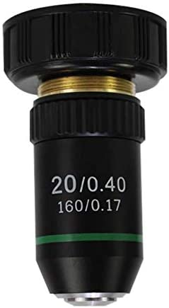 Reticle Optics 20X Microscope Objective Lens DIN Standard 160 17 20 2MM Interface Lab Quality product image
