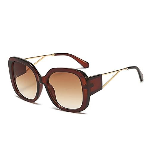 HHBB Gafas de conducción Gafas de sol de moda para mujer, color fresco, gafas de sol retro E