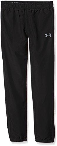 Under Armour Jungen Fitness Hose Storm Powerhouse Woven Pants, Blk/Stl, S, 1265567