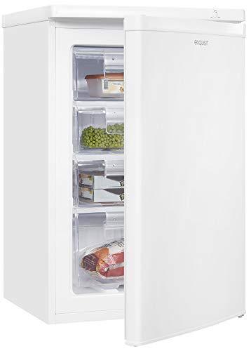 Exquisit Congelador GS80-040E-040E blanco | dispositivo de pie | 84 litros de volumen | blanco