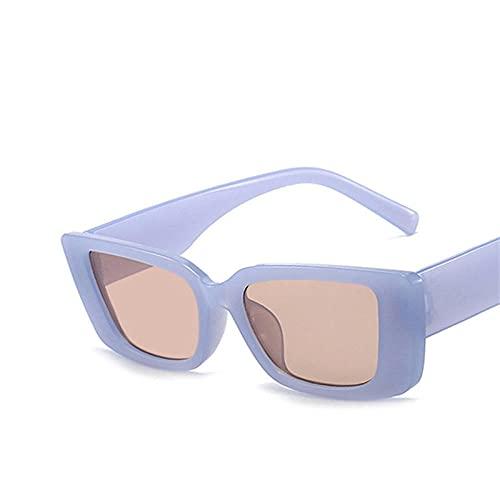 Gafas de sol cuadradas rosadas, gafas de sol de gelatina, gafas de sol de moda para hombres y , gafas de sol multifuncionales para salir