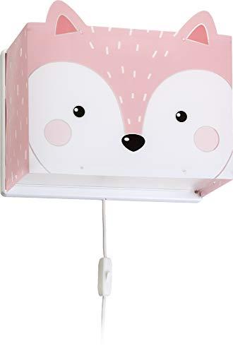 Dalber kinder Wandlampe, Kinderlampe Wandleuchte Little Fox Fuchs Tiere