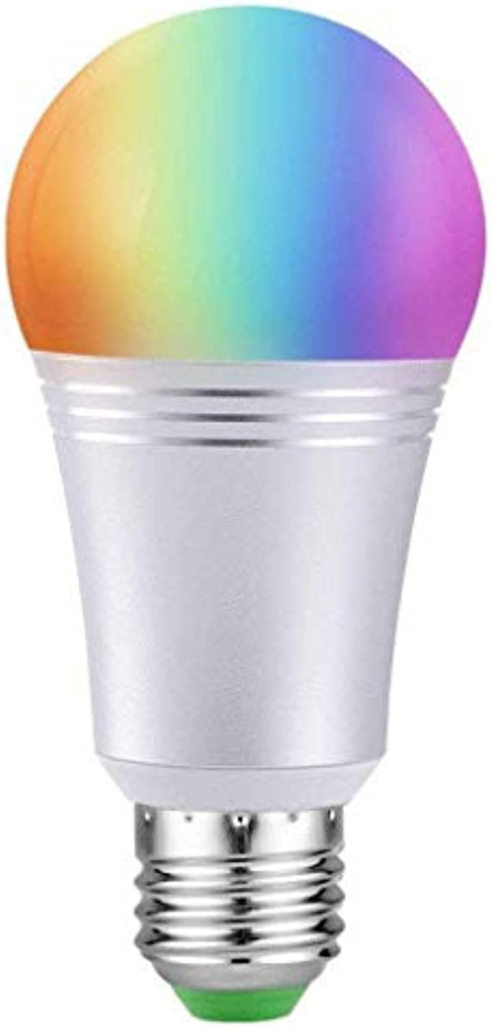WiFi Smart Light Bulb, Changing, Glühbirne Light LED Glühbirne Farbeful Rgbw Farbe Mobile Phone App Dimming Alexa Lampe by Alexa & Google Home, for Cafe, Bar, Bedroom (11w),11W,B22