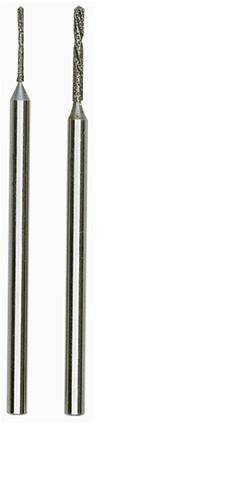Proxxon 28255 Diamant-Spiralbohrer, 0,8 und 1,2 mm