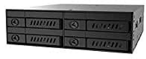 Chieftec CMR-425 externes Festplattengehäuse 2.5 Zoll HDD/SSD-Gehäuse schwarz - Netzwerk-Festplatte (2.5