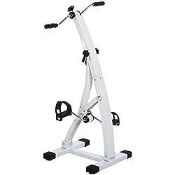 ✅BRACCIA E GAMBE: Una pedaliera perfetta per le persone anziane, e per aiutarle a migliorare la loro forma fisica...anche dal soggiorno! ✅SCHERMO A LED: Tieni traccia dei tuoi risultati come tempo, velocità e calorie bruciate. ✅REGOLABILE: La resiste...