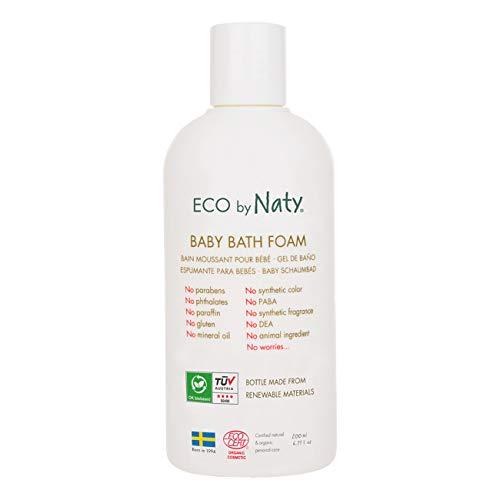 Naty 32cm, feuchtigkeitsspendener Baby Espuma de baño, Bio Sin Perfume, natural Maquillaje, 200ml