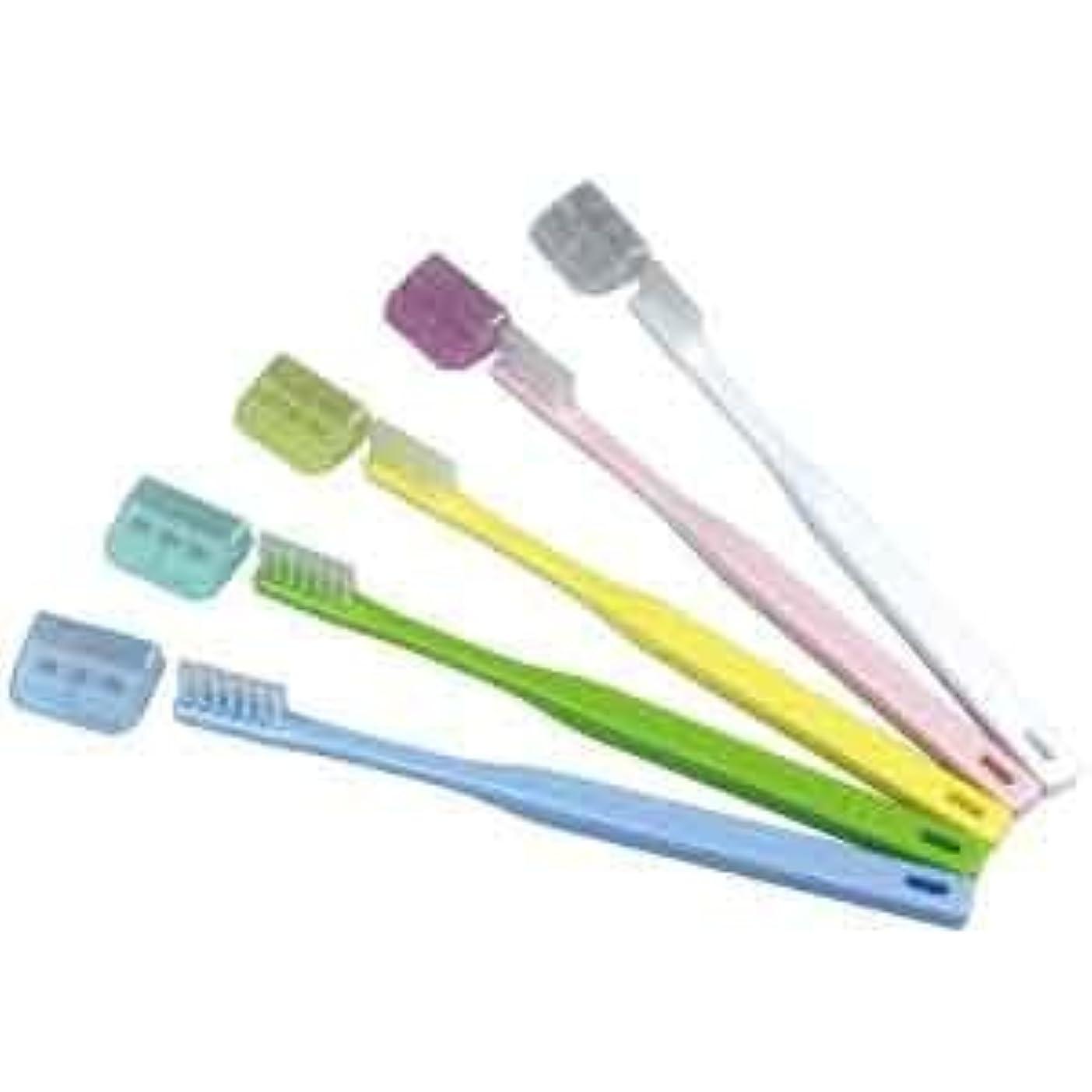 リファイン指全体にV-7 歯ブラシ ふつう コンパクトヘッド/10本入り