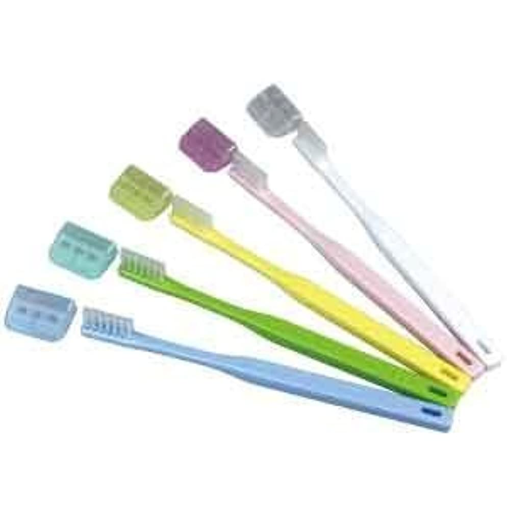 コンバーチブル注ぎますアマゾンジャングルV-7 歯ブラシ ふつう コンパクトヘッド/10本入り