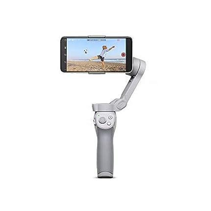 DJI OM 4 - Estabilizador de 3 Ejes para Smartphone, Diseño Magnético, Plegable y Portátil, DynamicZoom, Timelapse, Control Gestual, Modo Spin, Modo Story, Slow Motion, Panorama, Sin Care Refresh