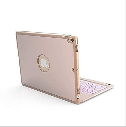 WLWLEO F r iPad Pro 10 5 Zoll Kabellose Tastatur Von hinten beleuchtete 7-Farben-Metall-Ultra-Slim-Bluetooth-Tastatur D nn und Leicht Schätzpreis : 80,13 €