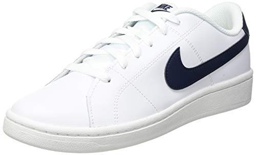 Nike Court Royale 2, Sneaker Hombre, White/Obsidian, 42 EU