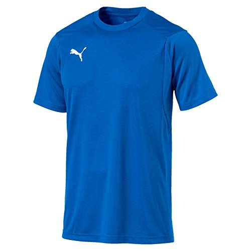 PUMA Herren Training Jersey Liga, Electric Blue Lemonade/PUMA White, L, 655308
