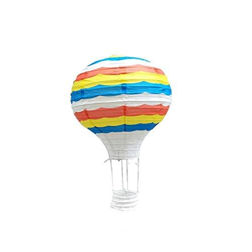 Hotaluyt 12 Zoll 30cm Hängende Heißluft-Ballon-Papierlaternen, Geburtstag, Hochzeit Weihnachtsfest-Dekoration