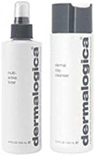 Dermalogica Cleanse & Tone Duo - Oily Skin (2 Products) (Pack of 6) - ダーマロジカクレンジング&トーンデュオ - 脂性肌(2製品) x6 [並行輸入品]