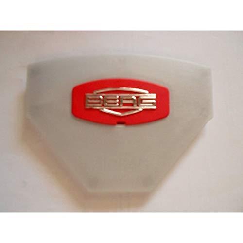Berg Gokart Ersatzteil, Abdeckung Lenkrad Logo rot und Logoplatte