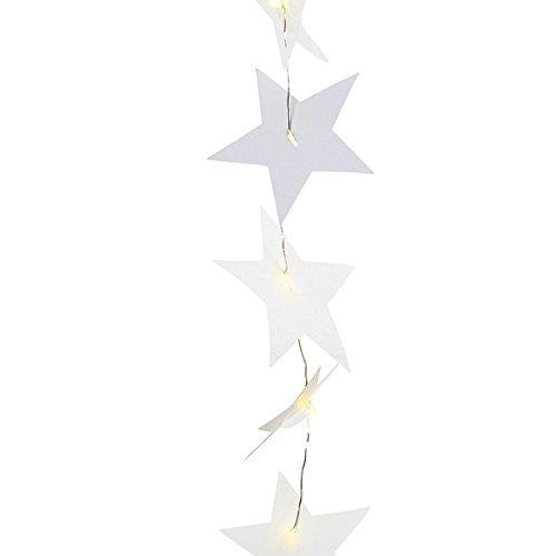 Räder sterrenverlichting ketting, goud met LED's