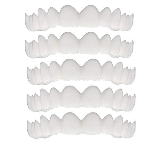 StAuoPK Creative Care Anti-Falsch Falsch Zahnspange, Silikon künstliche Zähne, den Zahn, Lächeln Zahnersatz