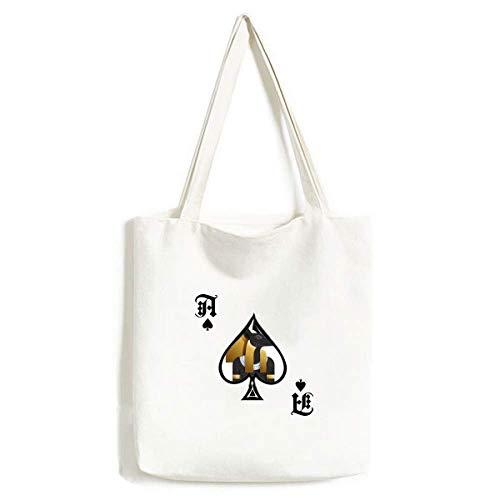 Antike Ägypten Anubis Art Muster Handtasche Craft Poker Spaten Waschbare Tasche