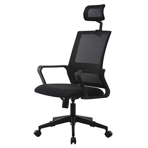 Comif- Chaise d'ordinateur de Bureau de Meubles, Coussin Confortable Ergonomique, capacité de roulement 250Kg, Ajustement de la Hauteur, Maille en Tissu Multicolore