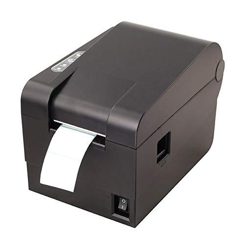 Thermodrucker, USB-Anschluss, Automatischer Kalibrierungs-Strichcodedrucker, Druckbreite 56 Mm, Geschwindigkeit 101 Mm/S, Geeignet Für Logistik- / Einkaufszentren Usw.
