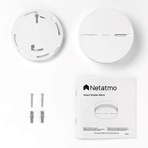 Netatmo : détecteur de fumée intelligent et connecté 4