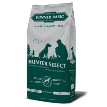 WINNER BASIC Hunter Select 18 kg - Alimento completo per cani adulti di tutte le razze