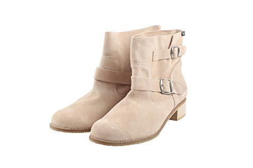 Jonny's 1001144 Damen Schuhe Stiefeletten Gr. 45 beige Neu