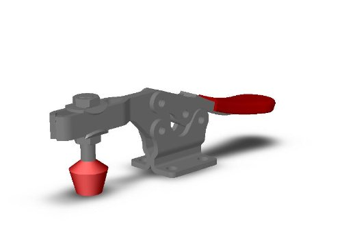 DE-STA-CO 225-USS Horizontal Handle Action Down Super beauty Product product restock quality top Hold Clamp