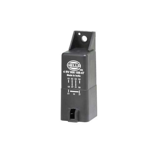 HELLA 4RV 008 188-471 Appareil de commande, temps de préchauffage - 12V - Nombre de connexions: 9 - capable à l'incandescence résiduelle - Nombre de cylindres: 4