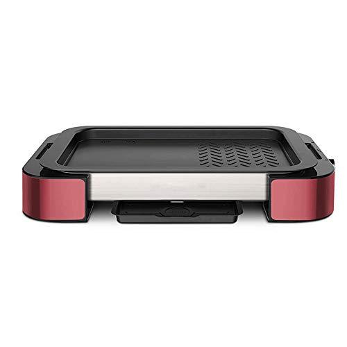YFGQBCP 1000W casero Portable sin Humo de la Parrilla con Revestimiento Antiadherente...